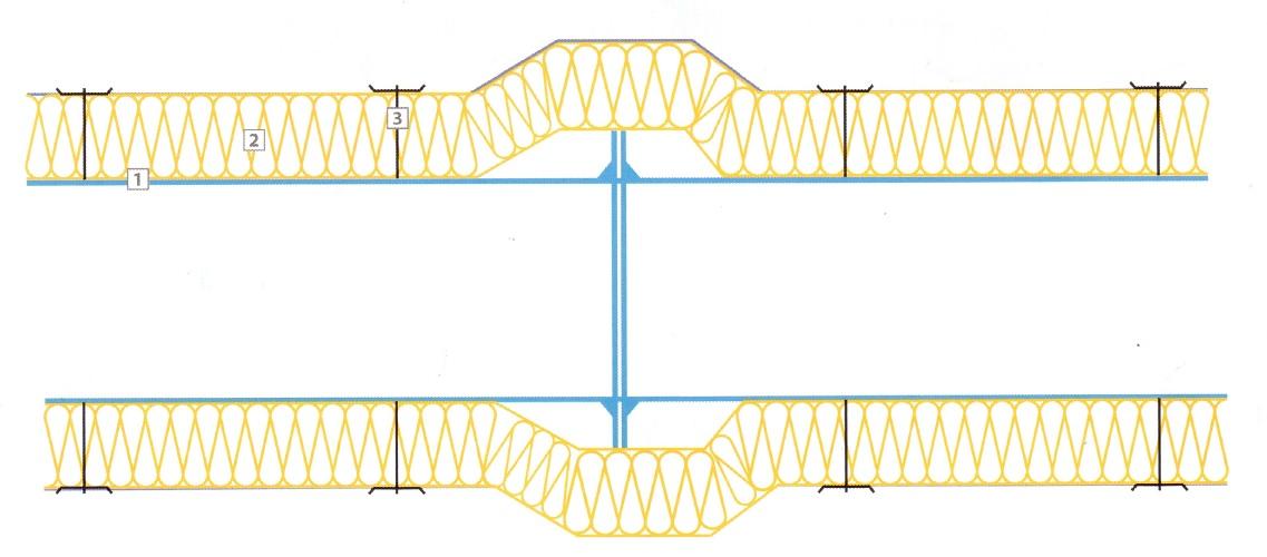 Монтаж матов на стыках воздуховода